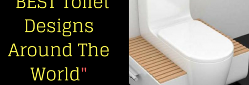 Toilet Designs Around The World in Various Countries