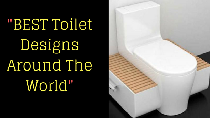 BEST Toilet Designs Around The World_
