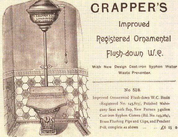 The Crapper toilet
