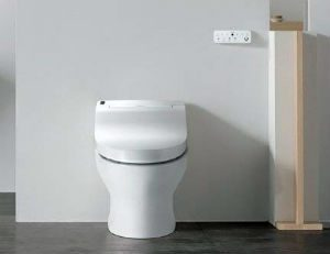 Bio Bidet IB835 Fully Integrated Bidet Toilet