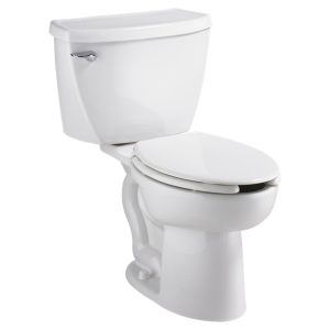 American Standard 2462.016.020 Cadet Elongated Pressure Assisted Two Piece Toilet