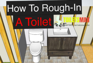 Toilet Rough-In Dimensions and How to Measure it?