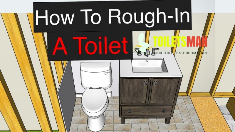 Toilet Rough in Dimensions Measurement