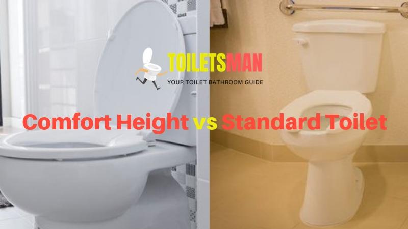 Comfort Height vs Standard Toilet