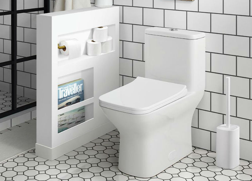 image of bathroom to demonstrate a toilet tank not filling