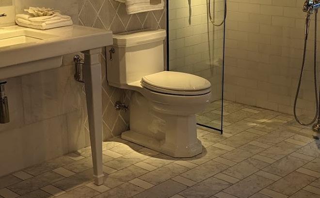 Kathryn Kohler Toilet in bathroom